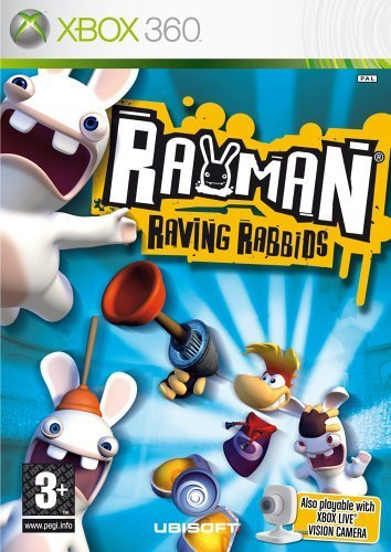 Rayman Raving Rabbids (Xbox 360) [UK IMPORT]
