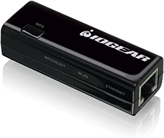 IOGEAR GWU637 Universal Wireless Adapter, Ethernet to Wi-Fi