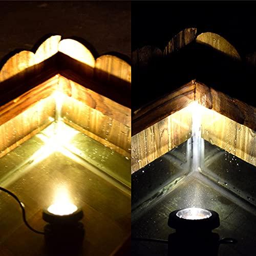 Spot Lampe Leuchte Strahler Solar Pool Teich Lichter Außen Wasserdicht LED Garten