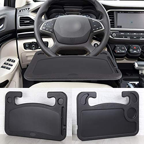 KingSaid Portable Car Steering Wheel Table Tray Laptop Desk Food Dining Reading Working Stand Table Holder