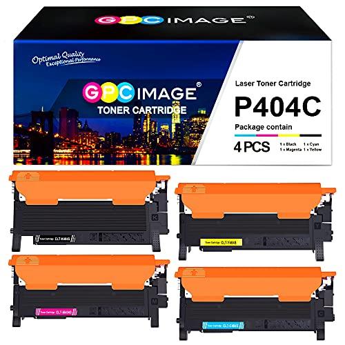 GPC Image CLT-404S Toner Kompatibel für Samsung CLT-P404C Tonerkartusche für Samsung Xpress SL C480W C480FW C430W C480 C430 C480FN (CLT-K404S CLT-C404S CLT-Y404S CLT-M404S)