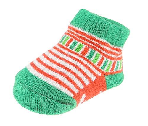 Baby Meisjes Jongens Winter Leuke Zachte Feestelijke Kerstmis Boxed Sokken NB tot 6 Maanden Small Veelkleurig