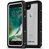 "CellEver iPhone 6 / 6s Case Waterproof Shockproof IP68 Certified SandProof Snowproof Full Body Protective Cover Fits Apple iPhone 6 and iPhone 6s (4.7"") - Clear"