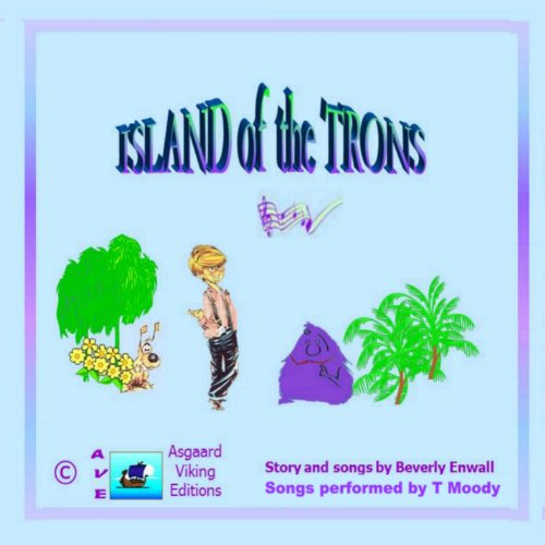 Island of the Trons audiobook cover art