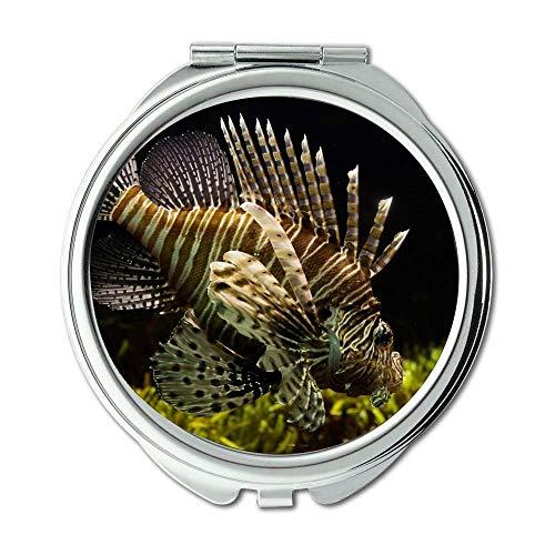 Yanteng Spiegel, Reisespiegel, Fischfischtank, Taschenspiegel, tragbarer Spiegel