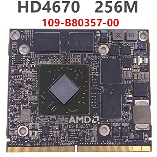 NoLogo Bildschirm Fit for Apple IMac 2010 2009 A1312 A1311 109-B80357-00 for ATI Radeon HD 4670 HD4670 HD4670m 256MB Grafik Video Card Drive-Fall