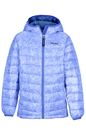 Marmot Girls' Nika Down Puffer Jacket, Fill Power 550, Lilac, Large