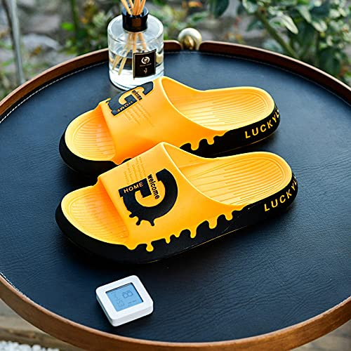 scarpe sandali plateau blu,2021 nuove coppie sandali e pantofole femminile cartone animato carino carino casa bagno bagno antiscivolo anti-odore indossa pantofole uomo-36-37 [Adatto per 35-36 yards]_