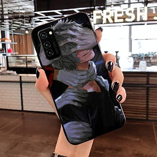 Tomura Shigaraki Decay My Hero Academia Dabi Case for Samsung Galaxy S10 E S20 Plus Ultra 5G S8 S9 Plus Note 8 9 10 Plus 20 Ultra 5G Silicone Phone Coque (7, Galaxy Note 10 Plus)