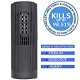 PurifiedO2 Portable Ozone Generator & Ionic Air Purifier No Filter - Rechargeable | Mini Air Ionizer for Car...