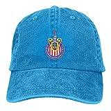 Lsjuee Guadalajara Chivas Gorras de béisbol Ajustables Sombreros de Mezclilla Sombrero de Vaquero Re...