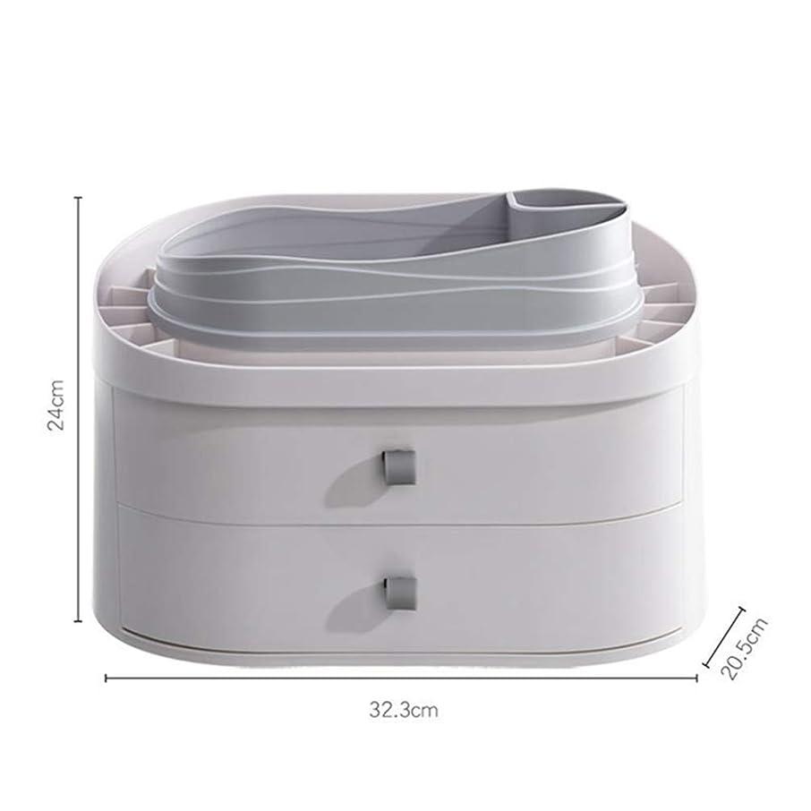 自治的テロリストネズミ化粧品収納ボックス 収納ボックス メイクボックス 仕切り 化粧品入れ 口紅メイク収納 引き出し小物 アクセサリー収納 整理簡単 防塵 防水 強い耐久性 浴室収納 洗面台 大容量 コスメボックス