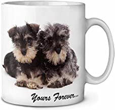 11 Ounces Coffee Mug, Schnauzer Dog Yours Forever Coffee Tea Mug