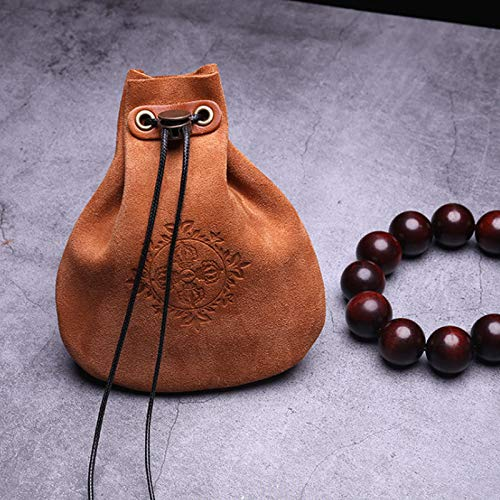 Andifany Outdoor Leather Cheap Coin Purse Coin Bag Drawstring Pouch Calabash Jewelry Packing Bags