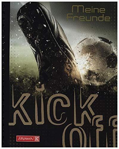 Brunnen Freundebuch Fußball - Meine Freunde -