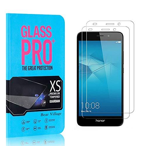 Bear Village® Displayschutzfolie für Huawei Honor 5C, 9H Härtegrad Displayschutz, 99% Transparente, 3D Touch Schutzfilm aus Gehärtetem Glas für Huawei Honor 5C, 2 Stück