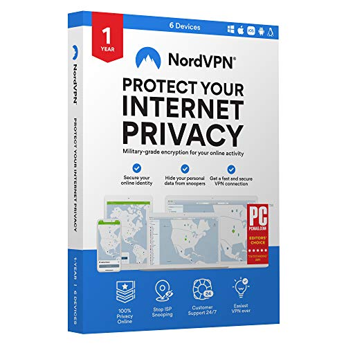 NordVPN Internet Privacy & Security Software