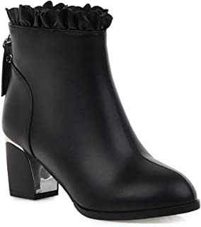 BalaMasa Womens ABS14159 Pu Boots
