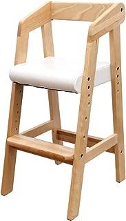 タンスのゲン キッズチェア ハイタイプ ハイチェア 木製 高さ調節可能 ナチュラル 30600003 NAAM 【63514】