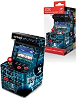 My Arcade Retro Machine Playable Mini Arcade: 200 Retro Style Games Built In, 5.75 Inch Tall, Powered by AA Batteries,...