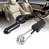 【𝐄𝐚𝐬𝐭𝐞𝐫 𝐏𝐫𝐨𝐦𝐨𝐭𝐢𝐨𝐧】 Immersion Heater,Portable Immersion Heater Portable Water Heater Element, Mini Electric Immersion Boiled Water Heater for Traveling Camping Picnic Car Use (12V/24V)(1
