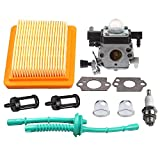 Hipa Carburetor with Air Filter Fuel Line Tune Up Kit for STIHL MM55 MM55C