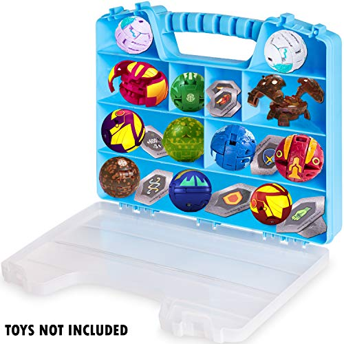 ASH BRAND Action Figures Case Organizer Stop Looking GET The Ultimate Beautiful Plastic Toy Storage Holder /& Display Box bin with Handle