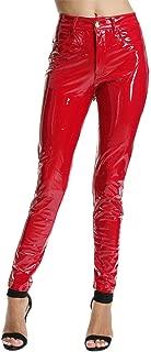 red liquid pants