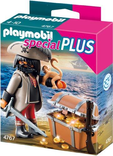 Playmobil 4767 - Finsterer Pirat mit Schatztruhe