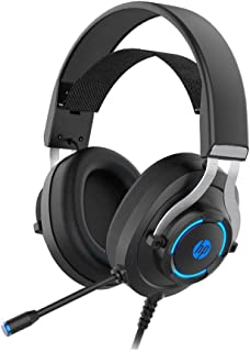 HP H360G 7.1 Virtual Surround Usb2.0 Gaming Headphone Gaming Headset With Microphone Led Light, Skin Friendly 50mm Speaker