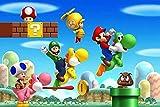 Puzzles para Adultos Rompecabezas de 1000 Piezas Creativity Coon Super Mario Teen Casual s Libre Educativo Intelectual Descomprimiendo Juguete Divertido Juego Familiar para niños Adultos