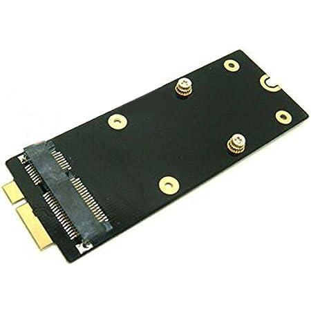 ミニ SATA mSATA SSD → MACBOOK PRO Retina A1398 A1425 変換 アダプター