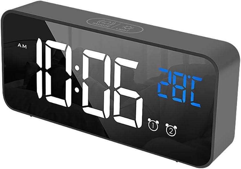 Yinrunx Small Alarm Clock for Bargain Mesa Mall Kids Brightness LED Ringtones 13 4