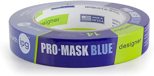 IPG PMD24 ProMask Blue Designer 14 Day Painter S Tape 0 94 X 60 Yd Single Roll