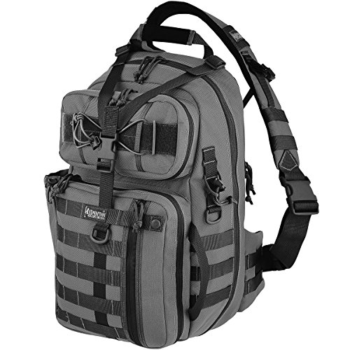 Maxpedition Kodiak Gearslinger Backpack, Wolf Gray
