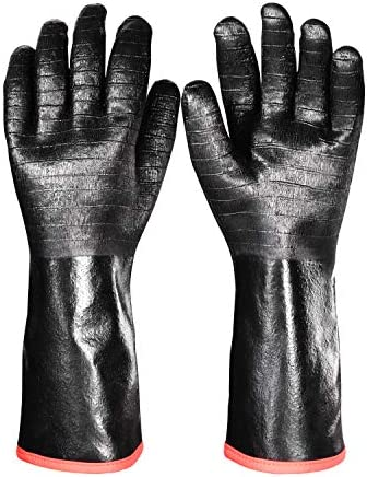 iHarbort Protective BBQ Gloves 1 Pair 1292 Heat Resistant Grilling Oven Gloves Fire Oil Resistant product image