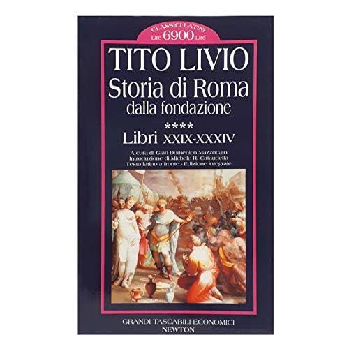 Storia di Roma dalla fondazione. Testo latino a fronte: 4