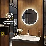 Meykoers - Espejo de Pared para Cuarto de baño con...