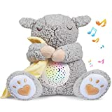 BEREST Baby White Noise Machine, Lullabies & Shusher Sheep Sleep Soother, Nursery Decor