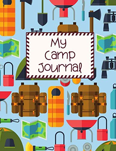 Compare Textbook Prices for Camp Journal for Kids: Activity book, Kid Journal with Prompts, Scrapbooking, Summer Workbook for 1 weeks itinerary, 8.5x11 size  ISBN 9798648873605 by Universeya, Universeya
