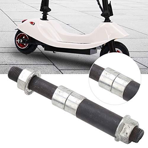 FEBT Eje de 100x10 mm, Eje de Rueda Delantera, Accesorios de modificación de Scooter eléctrico duraderos y Ligeros para Scooter eléctrico de 8 Pulgadas