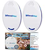 RX-1, 2Pack, Ultrasonic Pest Repeller Wall Plug-in, Most Effective Than Repellents - Get Rid of - Rodents, Squirrels, Mice, Rats, Bats, Roaches, Ants, Spiders, Bed Bugs, osquito, Insects, Fleas, Fly