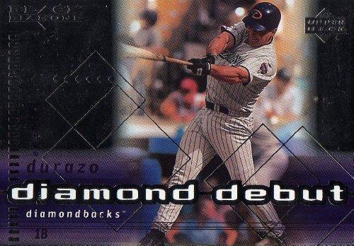 1999 Black Diamond Diamond Debut #107 Erubiel Durazo