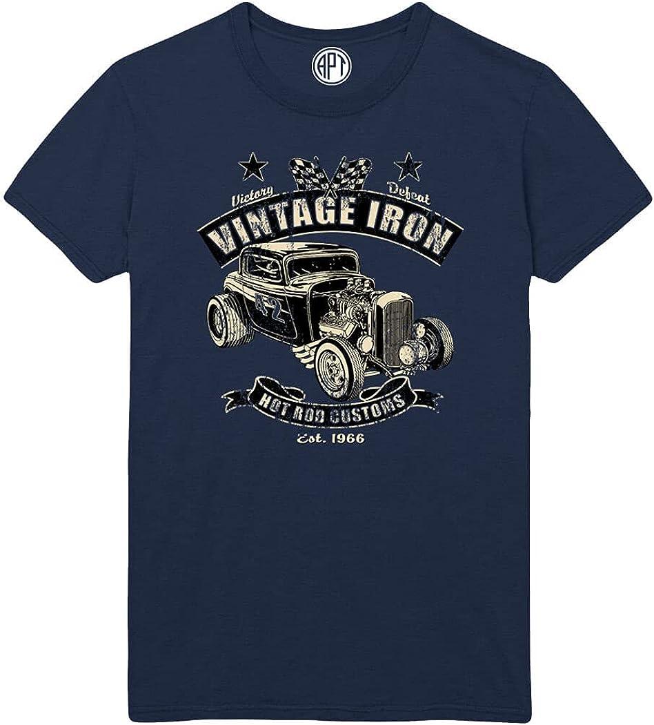 Vintage Iron Hot Rod Printed T-Shirt