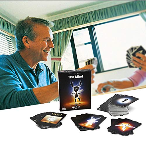 M-GLT The Mind Card Game, English Version 2-4 People-8 Years Old + Board...