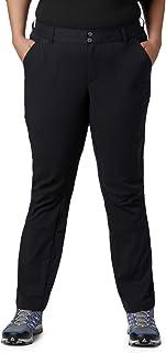 Columbia Women's Plus Saturday Trail Pants, Black, 24W/Regular