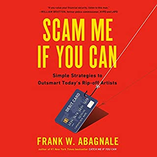 Scam Me If You Can audiobook cover art