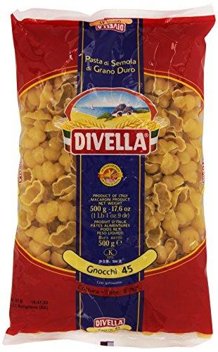 Divella - Gnocchi 45, Pasta di Semola di Grano Duro , 500 g