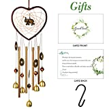 ShangTianFeng Wind Chimes, Wind Chimes Outdoor, Garden Gifts, Gifts for mom, Gifts for Grandma, Wind Chimes Indoor, Garden Decor, Yard Decor, Outdoor Decor, Memorial Wind Chimes, Elephant Wind Chimes