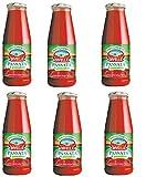Passata di Pomodoro DIVELLA corposa, 100% italiano - 6 bottiglie da 700 g [4200 g]